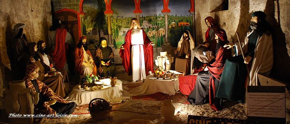 la ferme aux mille lumières fitilieu le dernier repas du Christ